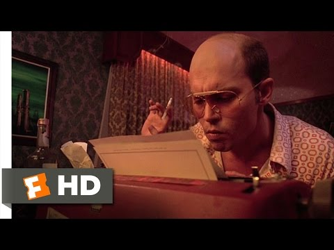 Fear and Loathing in Las Vegas 710 Movie CLIP  The High Water Mark 1998 HD