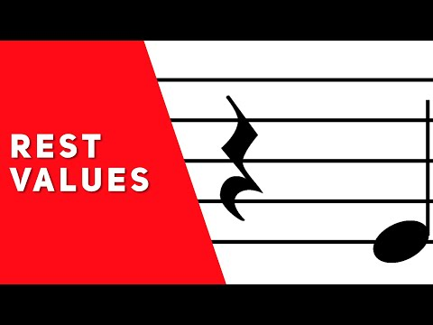 Rest Values (Music Theory Lesson 5)