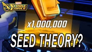 7 Star Ultimus Orb Unlock - Seed Theory - Rigged Odds?  MARVEL Strike Force - MSF
