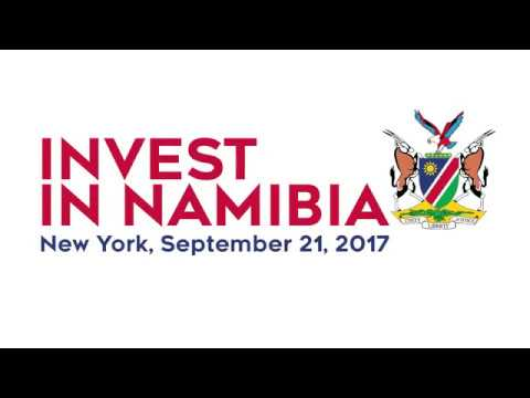 Invest In Namibia in New York City Sept. 21 2017