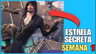 Fortnite * STAR SECRET STAR LOCATION WEEK 1 *