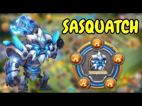 Max Breakthrough Sasquatch In Action L Castle Clash