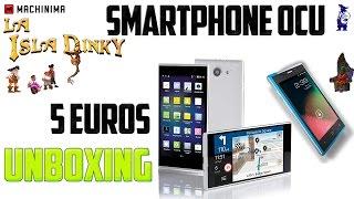 Unboxing - Review - Smartphone Regalo OCU - 5 Euros - Modelo 770