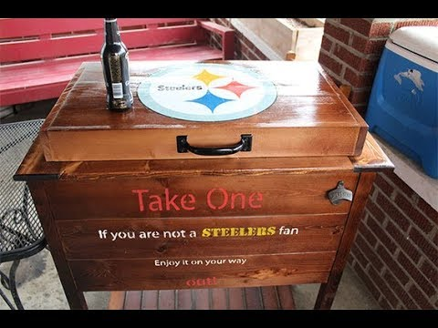 Pittsburgh Steelers DIY Ice Chest