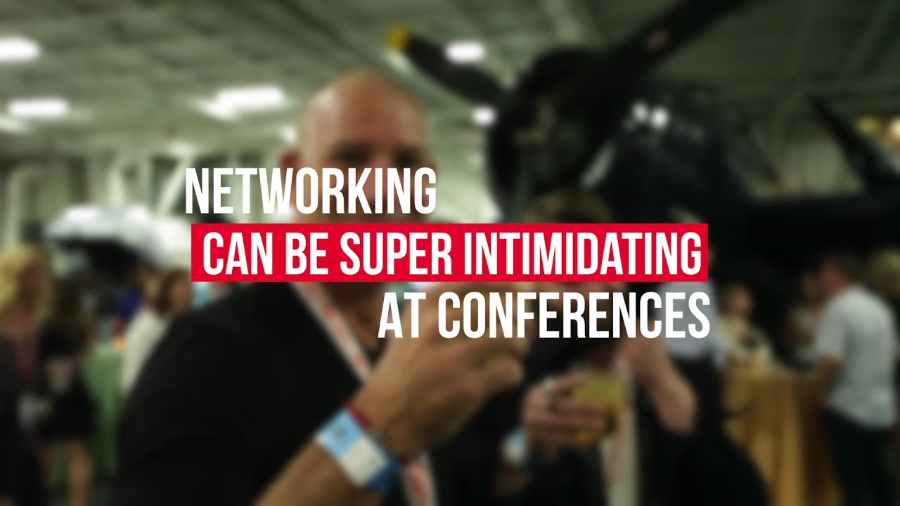 how to network effectively at conferences