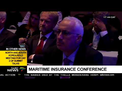 Marine Insurance Conference is underway in Cape Town