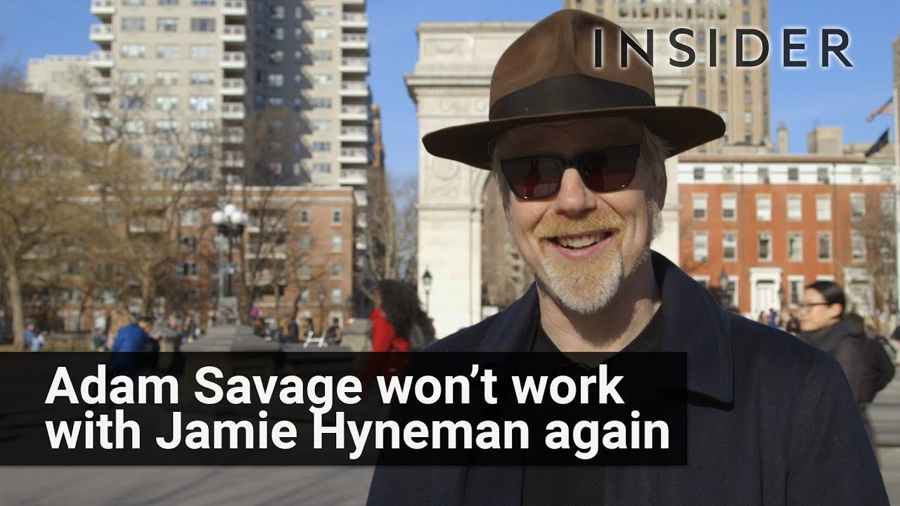 Why Myth Busters Adam Savage Wont Work With Jamie Hyneman Anymore