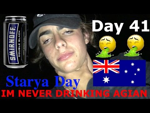 Summer holidays Day 41 || Australia Day...... Never Drinking Alcohol Again