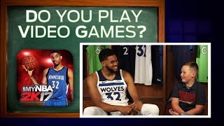 Groovin' with Grady: Young Gellner sits down with Karl-Anthony Towns