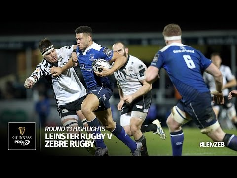Round 13 Highlights: Leinster Rugby v Zebre Rugby | 2016/17 season