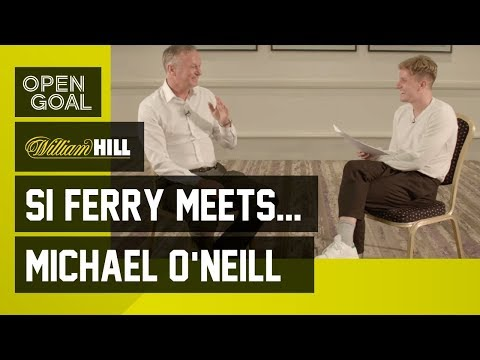 Si Ferry Meets... Michael O'Neill  Newcastle, Dundee United, Hibs, Northern Ireland & Euro 2016