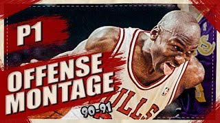 Michael Jordan UNSTOPPABLE Offense Highlights Montage 1990/1991 (Part 1) - LEGEND