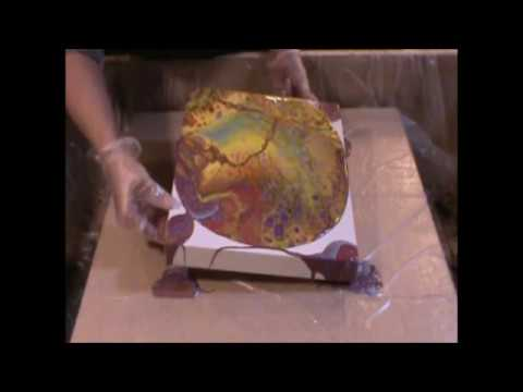 Can You Use Dimethicone When You Are Pouring Acrylic Paint