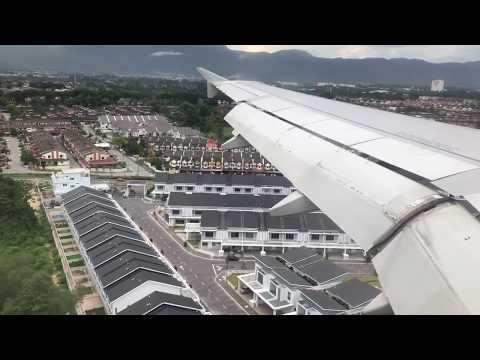 Landing at Ipoh Airport