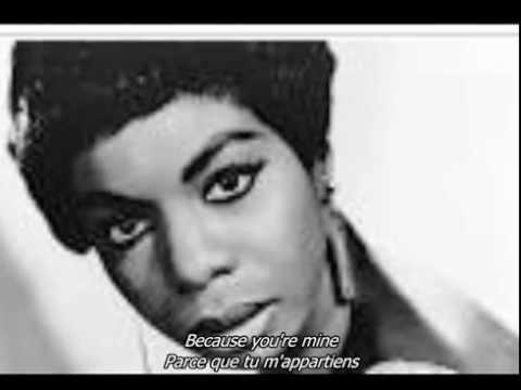 Nina Simone - I put a spell on you - sous-titres
