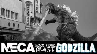 Neca 2001 Atomic Blast Godzilla Action Figure Review