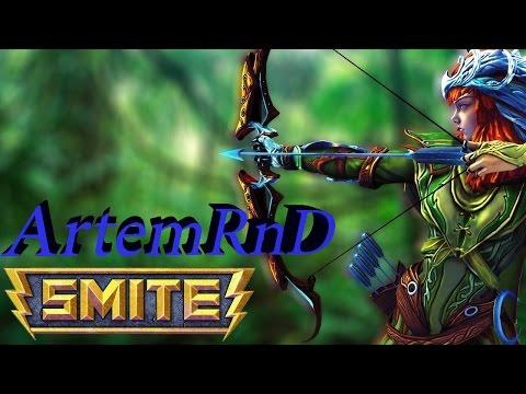 видео: smite гайд о боге artemis (Артемида)