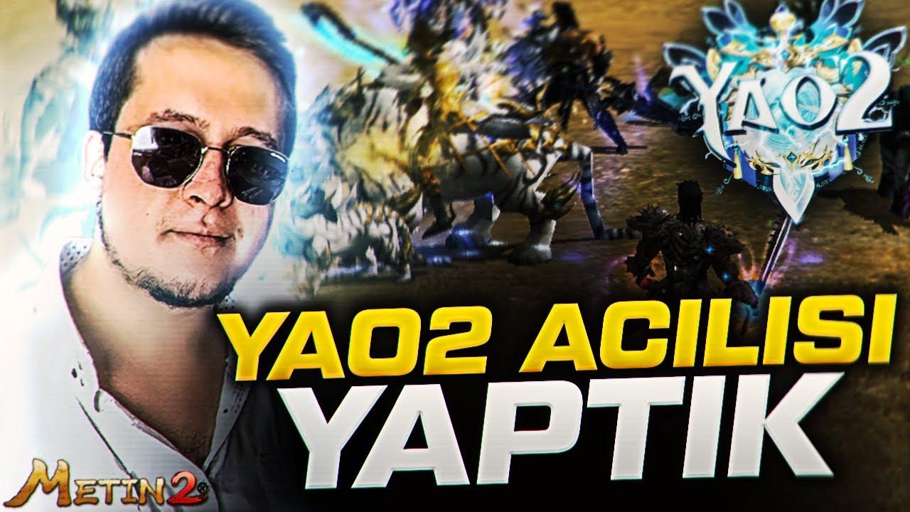 START VERDİK ! #Yao2 #Metin2