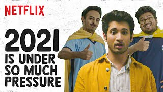 What If Years Were People | Rohit Saraf, @Jordindian, Vishnu Kaushal | Netflix India