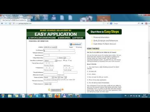 Payday Loans Direct Lenders Only Fast Payday Loans up to $1,000 from YouTube · Duration:  1 minutes 31 seconds