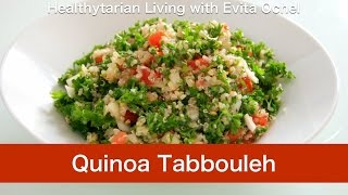 Quinoa Tabbouleh Salad Recipe - Nutrition, Tips & Preparation