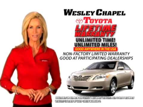 Lifetime Warranty Wesley Chapel Toyota Youtube