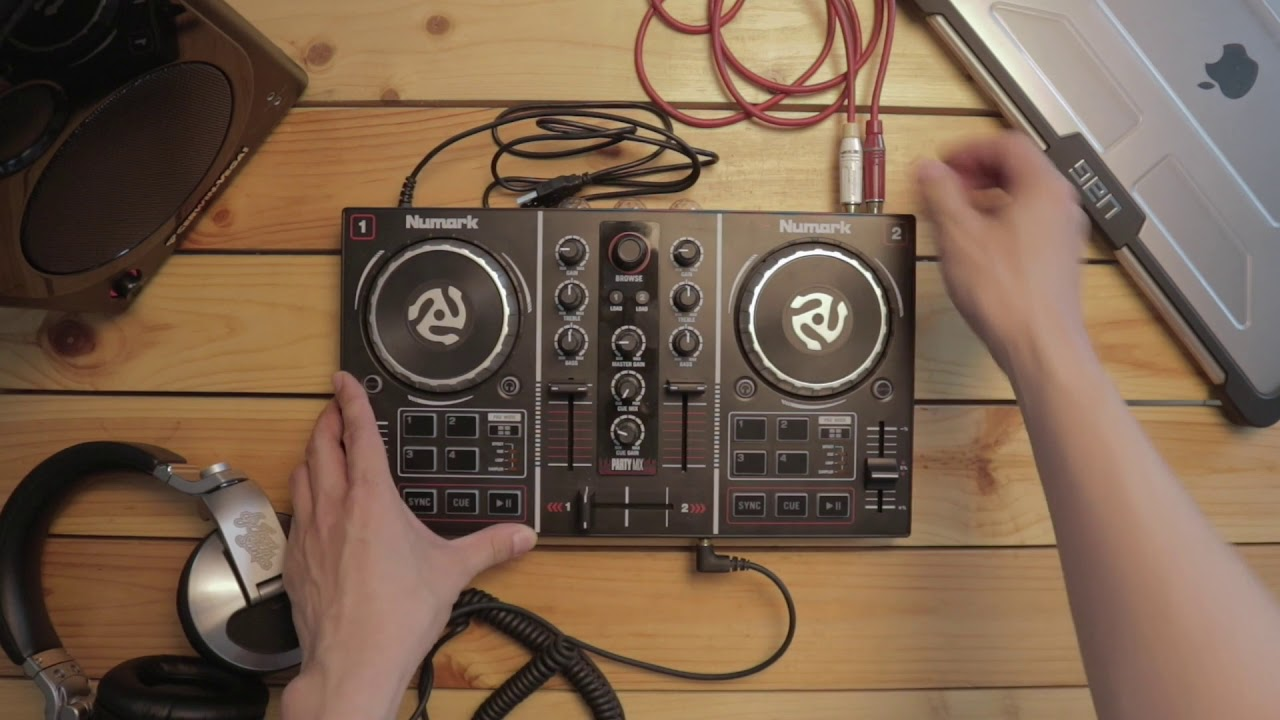 How To DJ With Your Numark Party Mix: Connecting The Party Mix