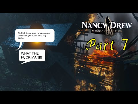 Let's Play Nancy Drew Midnight in Salem (Part 7) - Homeopathy is a Crock of Shit