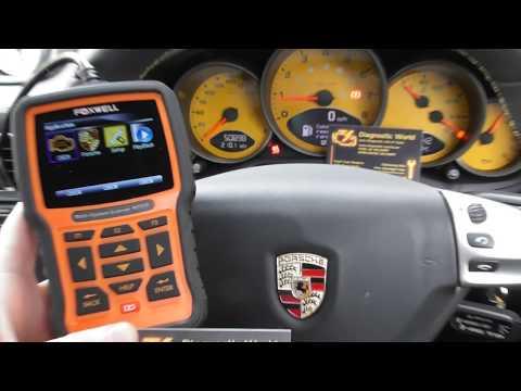 Repeat Porsche Cayenne 955 Dashboard Warning Lights