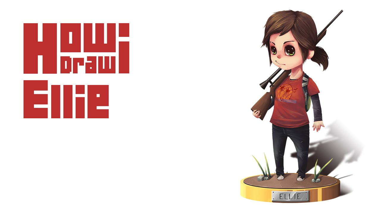 How I Draw Ellie The Last Of Us Youtube