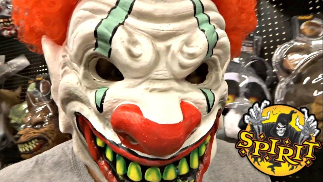 spirit halloween mask show 2017 - over 80 masks & props!!