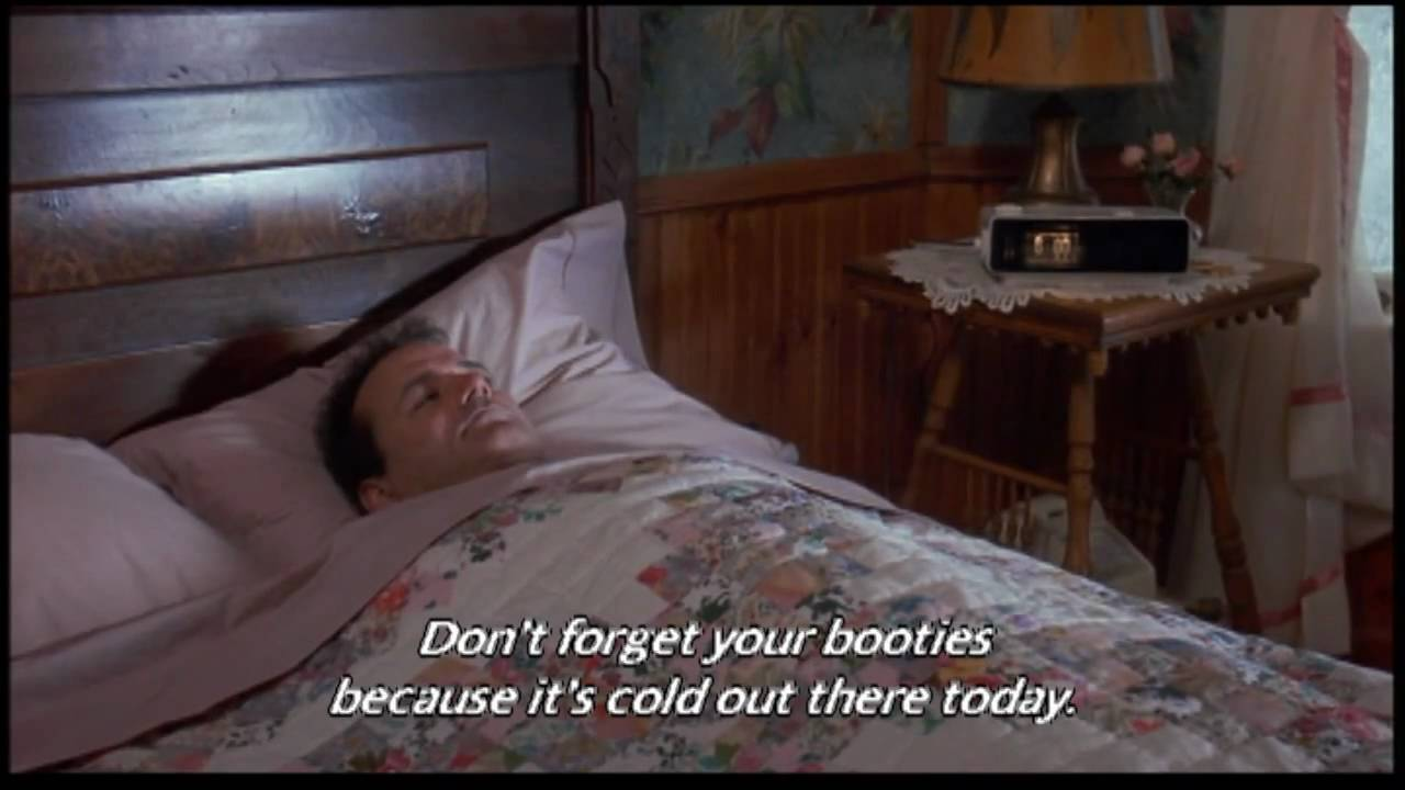 Groundhog Day Movie Quotes Groundhog Day Wakeup  Youtube