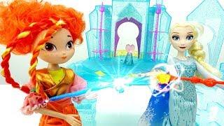 Видео с игрушками для девочек. Сказочный патруль и Снежная королева