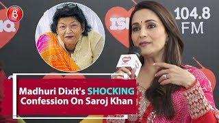Madhuri Dixit's SHOCKING Confession On Working With Saroj Khan