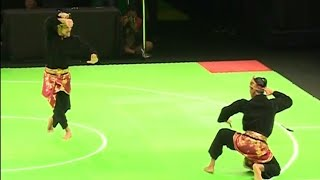 Download Video Aksi Pencak Silat Seni Ganda Indonesia (Yolla Primadona - Hendy) raih medali Perak. MP3 3GP MP4