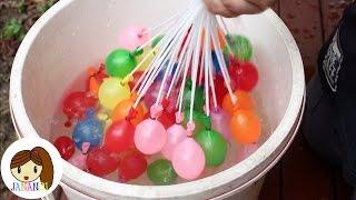 ชวนเดอะแกงค มาเล นล กโป งน ำ water balloon   จาน าน อย