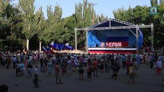 22.08.2017 Крым, Феодосия - День флага России. Награждение и концерт