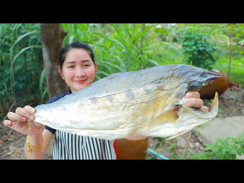 Tasty Ocean Dried Fish Cooking Vegetable Recipe - Cooking With Sros