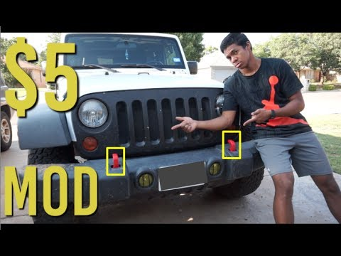 Black Jeep Rubicon >> Rubicon Hard Rock Tow Hooks for Five Dollars - YouTube