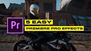 5 Creative Premiere Pro Effects 2021