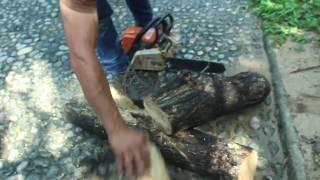 ลับคมโซ่เลื่อย เฉือนไม้ได้แผลสวย แถมทำงานไวขึ้น