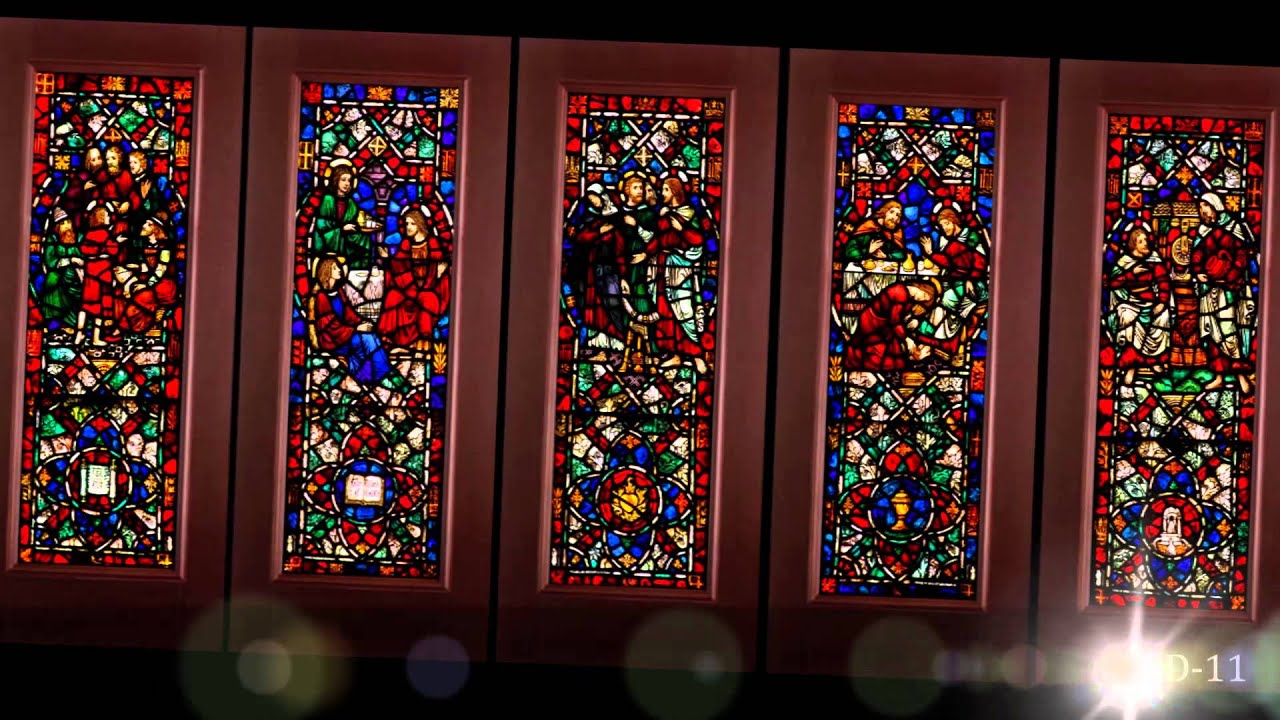 Stained Glass Doors Youtube