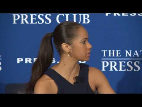 Misty Copeland speaks at The National Press Club