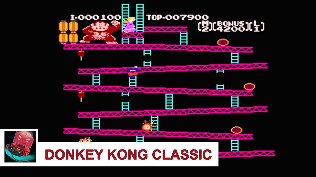 donkey kong classics nintendo