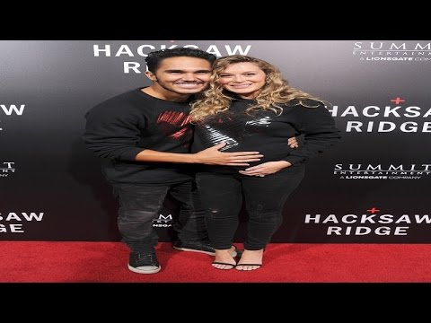 Carlos and Alexa PenaVega Welcome Son Ocean King