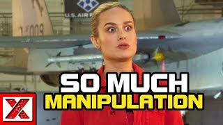 The Manipulation Behind Brie Larson & Captain Marvel's Box Office