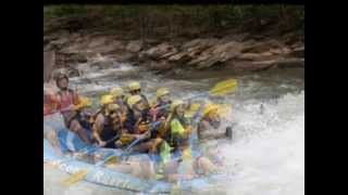 Middle Section - Ocoee River, TN - White Water Rafting