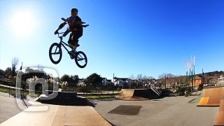 Getting Awesome With Ryan Nyquist & Baby BMXer Nyquist:...