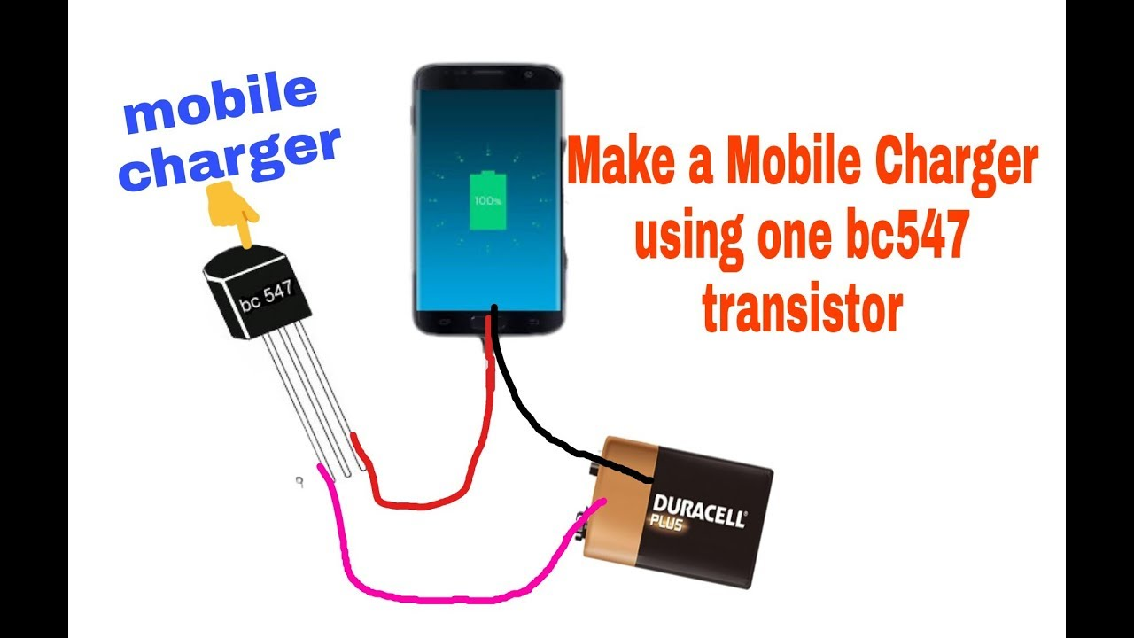 Mobile Charger The Circuit