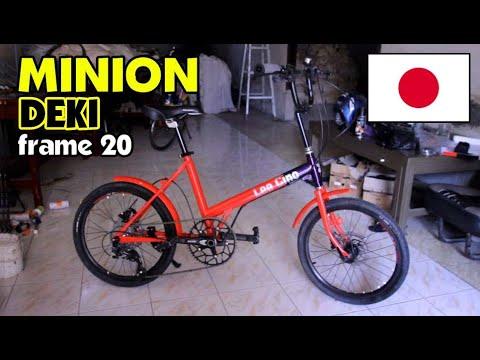 Si Keren Sepeda Minion Deki Jepang Frame 20 Youtube